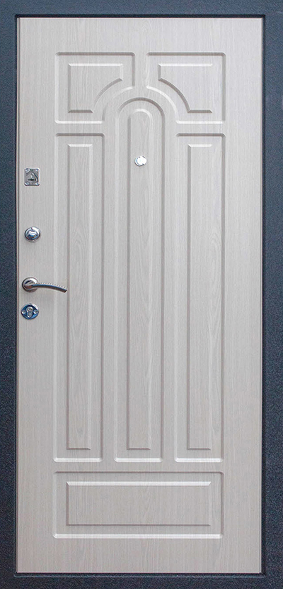 входные двери цвет белый